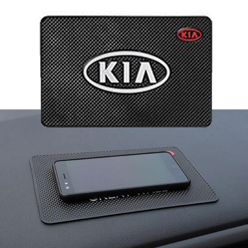 Antideslizante Mat Interior del coche accesorios de estilo de coche para KIA ceed vendo KIA sportage 2011 de 2018 de 2019 sorento cerato rio 3 4 Estilo de coche