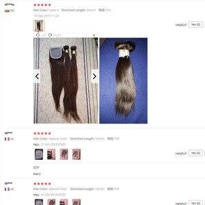 Image 5 - Bobbi Collection extensiones de cabello no Remy, marrón oscuro, 1B 27, rubio miel, indio