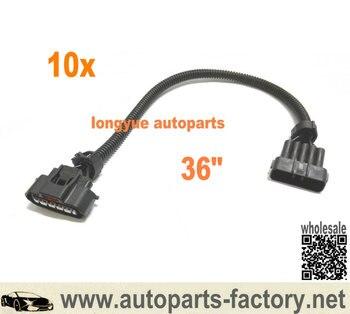 longyue 10pcs  MAF Wiring Harness for Mazda Miata MX5 MX-5 1.8 NA / NB