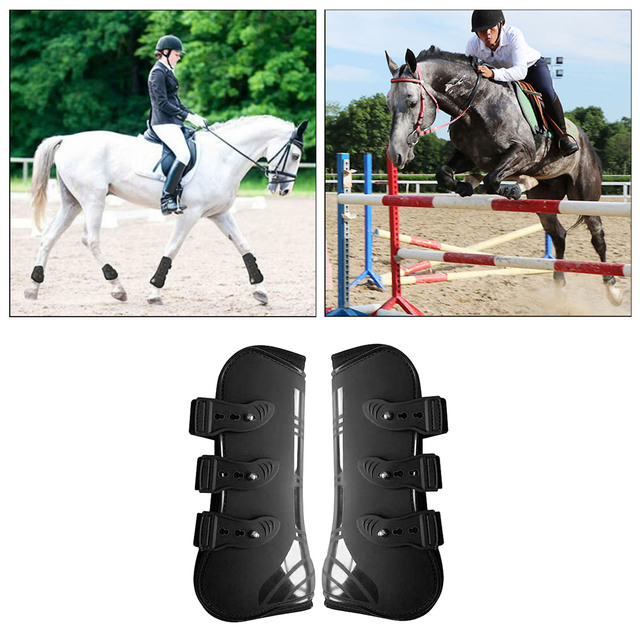 Tendon Boots Fit Snuggly For Your Horses Protection  3