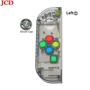 Image 3 - JCD New Housing Shell DIY Transparent Red Blue Replace Cases Customized Cover for NS Nintend for Switch Controller for Joy Con