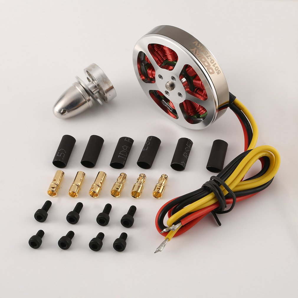 OCDAY <font><b>5010</b></font> 360V /750KV High Torque Aluminum <font><b>Brushless</b></font> <font><b>Motors</b></font> For ZD550 ZD850 RC Multicopter Quadcopter RC Hobby Toys Parts New image