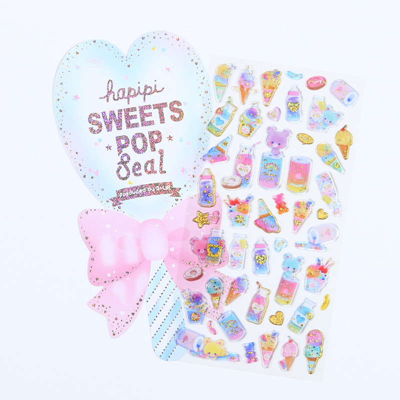 1set/lot Stationery Stickers Fun Candy Diary Decorative Mobile Stickers Scrapbooking DIY Craft Stickers