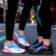 Jzzddown унисекс красочные легкие кроссовки обувь для женщин мужчин пара влюбленных женщин дышащие Zapatos De Mujer Спортивная обувь