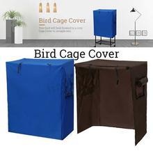 Клетка для птиц, покрывающая большую птицу, попугай, клетка для домашних животных, пылезащитная крышка для птиц, помощник для сна, сохраняющая температуру, товары для птиц