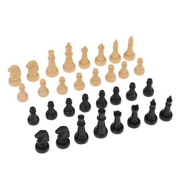 32x pièces d'échecs, sans echiquier 2