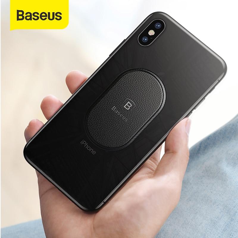 Baseus Car Phone Holder Metal Plate Disk For Magnetic Car Phone Holder IRon Sheet For Magnet Mobile Phone Holder Car Stand Mount