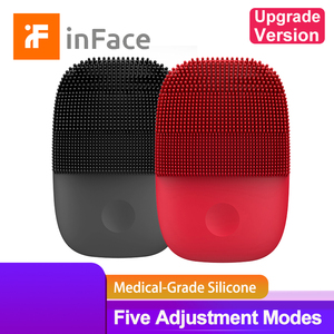 Image 1 - Inface Facial Cleansing Brush Upgrade Version Electric Sonic Silicone Face Brush Deep Cleansing Facial Cleanser