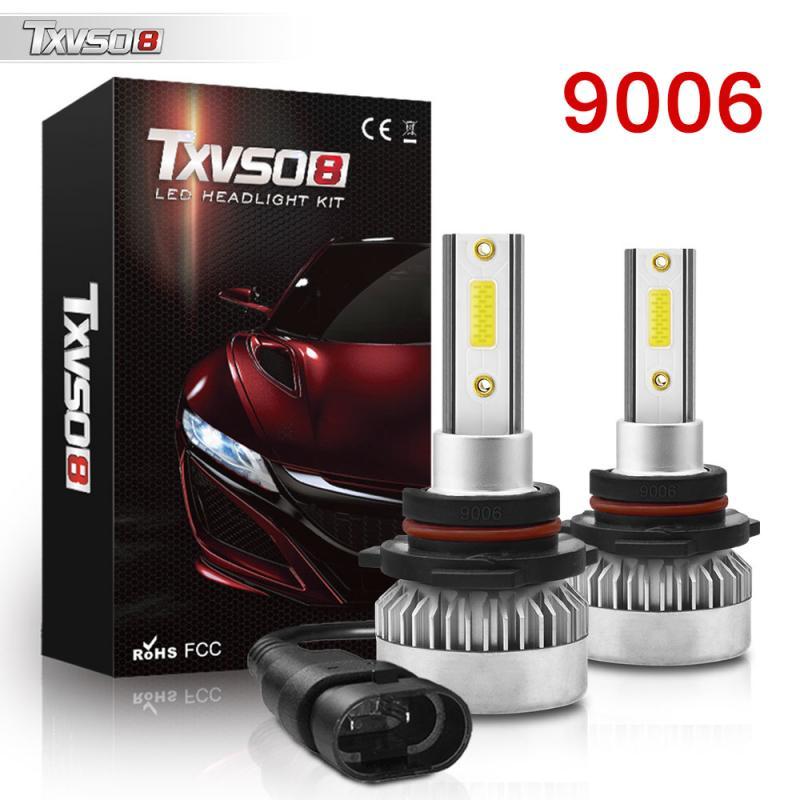 Комплект из 2 предметов супер яркий светодиодный головной светильник s белый светильник 9006/HB4 110W 6000 К вождение автомобиля лампы головной све...