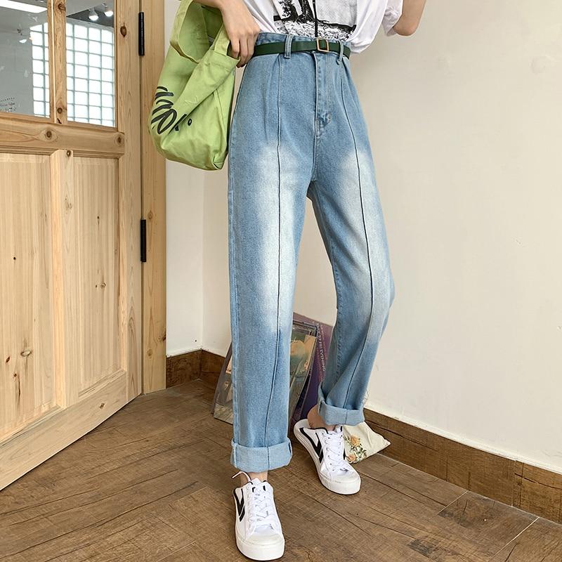 GUUZYUVIZ Wide Leg Jeans Woman High Waist Boyfriend Jeans For Women Loose Vintage Casual Denim Pants Pantalones Vaqueros Mujer