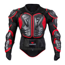 Motorbike Jacket Motorcycle Jackets Protective Gear Full Body Armor Jacket Motocross Racing Spine Chest Protecto Coat Protector(China)
