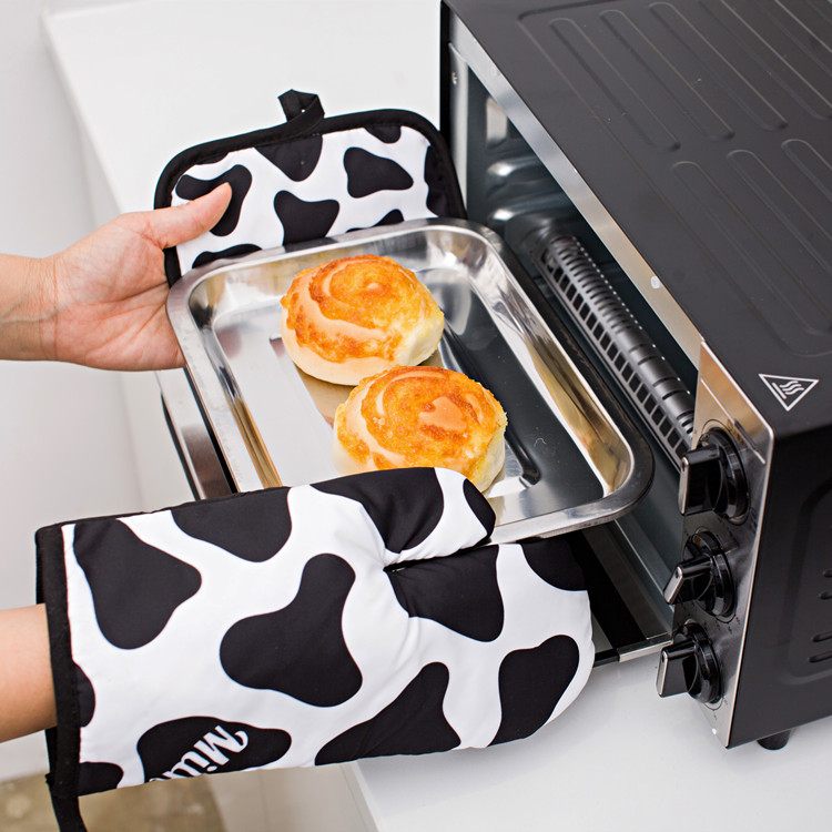 Кухонные перчатки для выпечки 2 шт/компл микроволновая печь