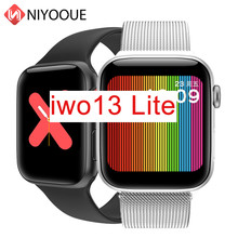 Iwo 13 Lite Smartwatch Band Altijd Op Display Smart Horloge Hartslagmeter Fitness Tracker Mannen IWO13 44 Mm Case 1:1 Horloge 5 W68(China)