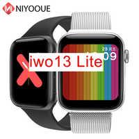 IWO 13 Lite Smartwatch Band Immer Auf Display Smart Uhr Herz Rate Monitor Fitness Tracker Männer IWO13 44mm Fall 1:1 uhr 5 W68