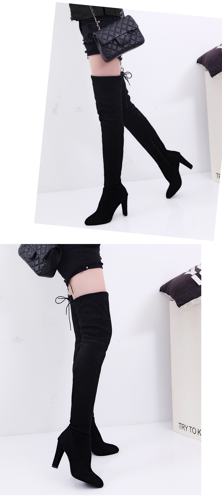 Camurça Sapatos De Couro Das Mulheres Sobre