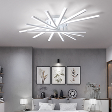 High-end led ceiling lights Modern led ceiling lamps for living room lights bed room Indoor Lighting lamparas de techo fixtures black white gray minimalism modern led ceiling lights for living room bed room lamparas de techo led ceiling lamp light fixtures