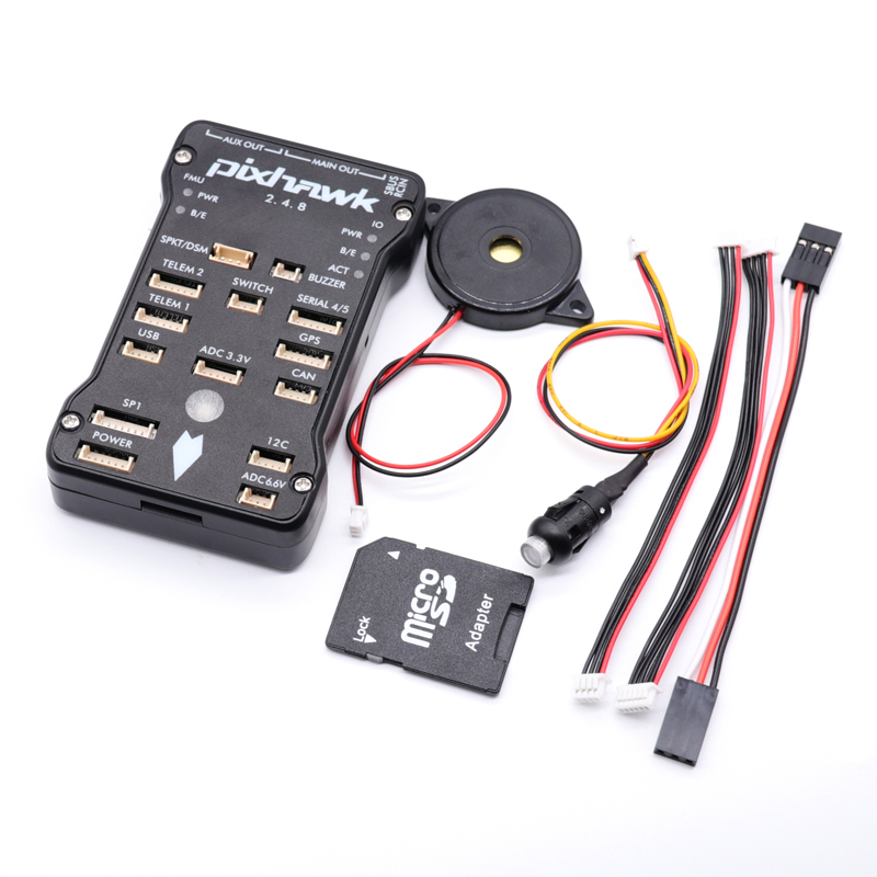 Image 2 - Pixhawk 2.4.8 PX4 PIX 32 Bit Flight Controller Autopilot with 4G SD Safety Switch Buzzer PPM I2C for RC Quadcopter-in Parts & Accessories from Toys & Hobbies