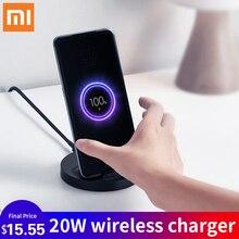 Xiaomi dikey kablosuz şarj gençlik WPB15ZM hızlı kablosuz şarj taşınabilir şarj 20W hızlı şarj cep telefonu şarj cihazı