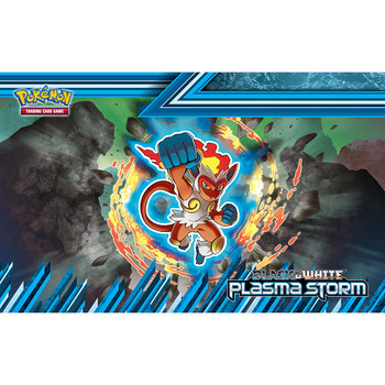 Takara Tomy Pokemon Trading Card Game Playmat Monsters Board Game Mat Infernape Monkey Plasma Storm PTCG Accessories Mouse Pad many playmat choices 565 mtg board game mat table mat for magical mouse mat the gathering