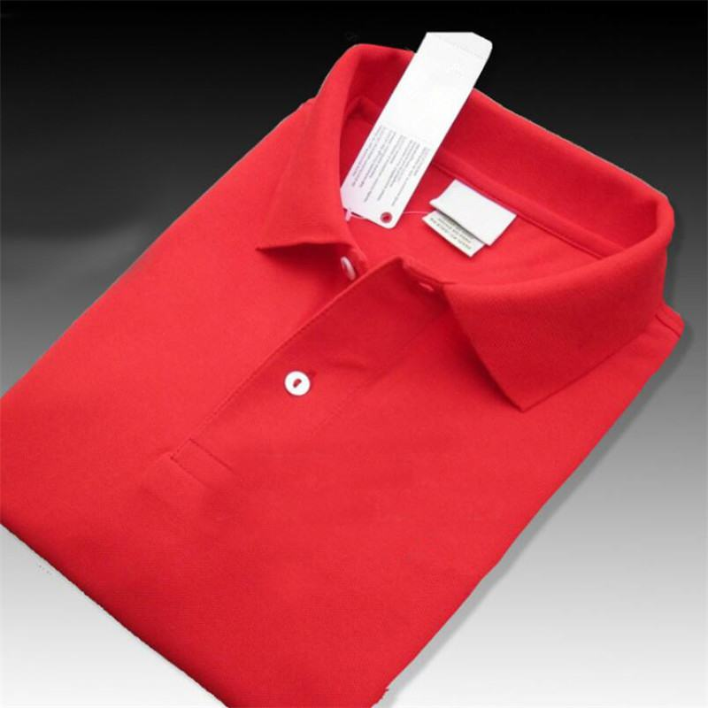 Top Quality Crocodile Men's Long Sleeve Polo Shirts 100% Cotton Casual Solid  Mens Tees Fashion Man Homme