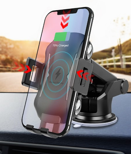 Fast Wireless Charger For <font><b>Blackview</b></font> BV9700 <font><b>Pro</b></font> <font><b>BV8000</b></font> <font><b>Pro</b></font> BV9600 <font><b>Pro</b></font> BV6800 <font><b>pro</b></font> BV5800 <font><b>Pro</b></font> BV9900 Qi <font><b>Charging</b></font> Pad Car Phone image