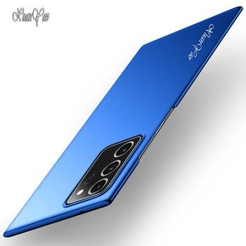 Nota 20 + 20 Caso Ultra XUANYAO Moda Slim Glassato Coque Per Samsung Galaxy Note 20 Più Lite Copertura Della Cassa duro opaco Della Copertura Posteriore