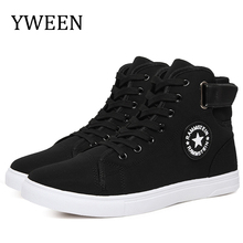 цены New Arrival Men Canvas Shoes Spring Autumn Top Fashion Lace-up High Style Solid Colors Flat With Youth Oxford Casual Shoes