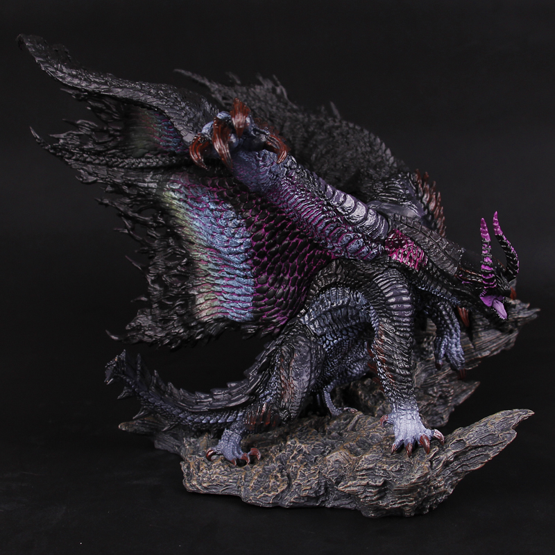 Monster Hunter World 4 Black Eclipse Dragon Genuine New Japanese Genuine Action Figure Model Kids Toy Gift-in Action & Toy Figures from Toys & Hobbies    1