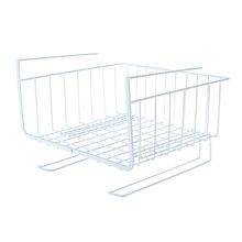 New Hanging Basket Cabinet Cup Organizer Storage for Kitchen Bin Under Shelf Wire Rack Hot Sale