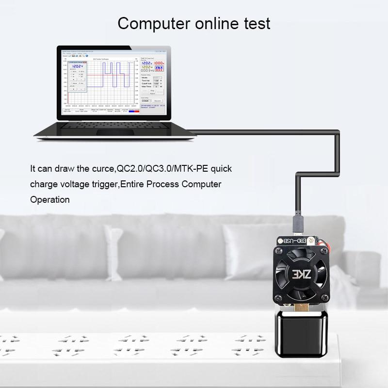 Számítógépes szoftverek online USB teszter DC kisülési - Mérőműszerek - Fénykép 2
