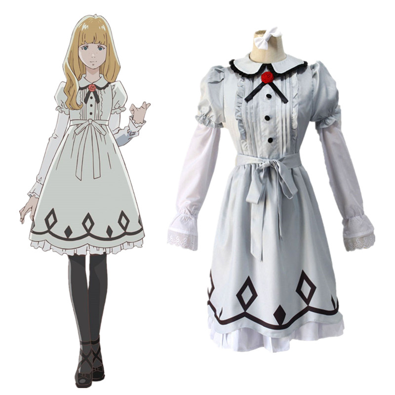 Anime CAROLE & TUESDAY Tuesday Cosplay Costume Dress