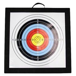 Tir à l'arc cible extérieure arc et flèches cible Eva 50X50X6 Cm