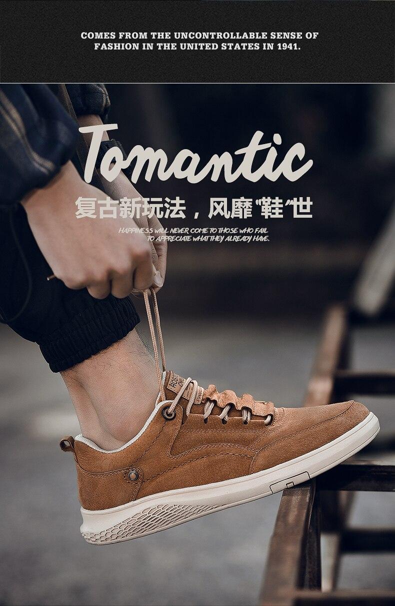 para hombre zapatos cuero homem casual masculino tamanho grande para 2020
