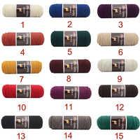 Yarn High quality Alpaca wool Soft Warm Knitting Worsted Alpaca Wool Crochet Yarn Thread Scarves Gloves Handcraft Pure Multic