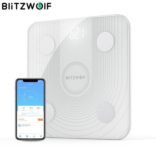 VR3 BW SC1 2.4GHz WiFi Thông Minh Mỡ Cơ Thể Ứng Dụng Điều Khiển Từ Xa BMI Phân Tích Dữ Liệu Với 13 Cơ Thể Số Liệu Kỹ Thuật Số trọng Lượng Quy Mô