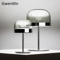 Modern Luxury Table Lamp Mushroom Standing Desk Light for Bedroom Bed Bedside Lamp Led Light Fixtures Luminaire Nordic Home Deco