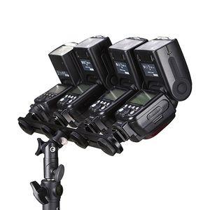 Image 3 - FULL Đa Năng 4 Giá Đỡ Đèn Flash Hot Shoe Tốc Đứng Dù Ánh Sáng Giá Đỡ Cho Phòng Thu Video Máy Ảnh Dslr Canon Nikon yongn