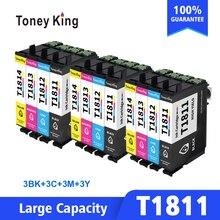 Ink-Cartridge T1811 XP-215 Epson XP-312 for 422 425 325 322 3set
