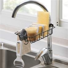 Дырокол раковина стойка для кранов Висячие стеллажи для хранения клипса чистящая ткань держатель для ванной и кухни кран тряпичная Полка Органайзер