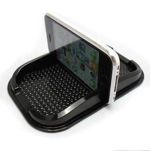 Image 3 - אוניברסלי ברכב אוטומטי פנים Accessoies דברים רצפת טלפון גאדג ט מחצלות שטיח אחיזת החלקה Pad GPS מחזיק מחצלת אנטי החלקה