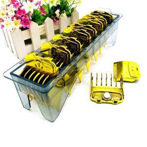Image 4 - 2019 mais novo 10 pçs/set elegante ouro elétrico clippers ímã pinça limite pente cabeça de óleo clipper pentes