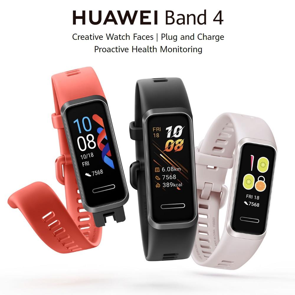 Huawei Band 4 Smart Watch Heart Rate Smart Band Music Control ...