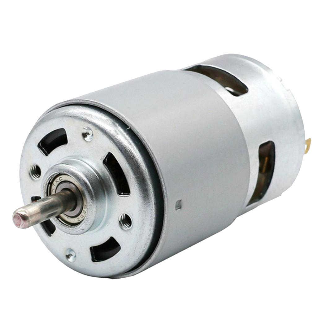 5 مللي متر سينغال الكرة تحمل رمح المحرك 775 تيار مستمر 12 فولت 100 واط 12000 دورة في الدقيقة ل العالمي