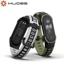 Para Xiaomi Mi banda 6 5 Correa pulsera para Mi banda Correa de silicona Correa reloj de pulsera para Mi banda 3 NFC versión Global