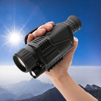 5X40 Professional Monocular Infrared Digital Night Vision Monocular Full Dark 200M Range Night Vision Hunting Monocular фото