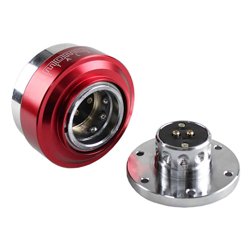 Universele Aluminium Auto Auto Quick Release Stuurwiel Anti-Diefstal Snap Off Hub Adapter Boss Ball-Lock Type kit