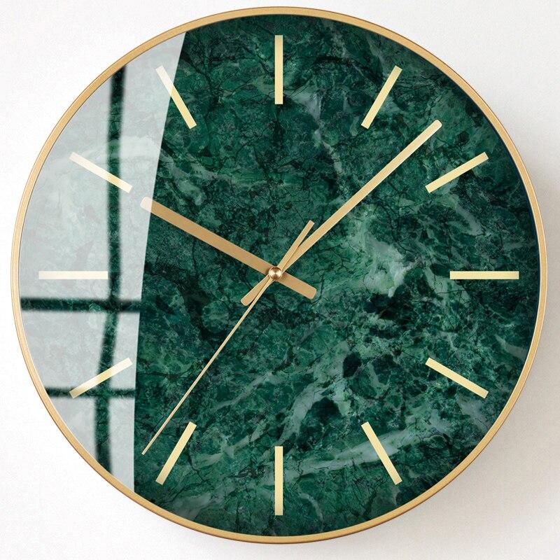 Reloj de pared minimalista nórdico creativo silencioso cocina Relojes Para salón diseño moderno elegante reloj pared decoración SS50WC Tabla Periódica de elementos, arte de pared, símbolos químicos, reloj de pared, pantalla educativa, elemento, reloj de aula, regalo de maestro