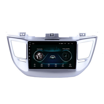 4G LTE Android 10.1 For HYUNDAI TUCSON IX35 2016 2017 2018 Multimedia Stereo Car DVD Player Navigation GPS Radio image
