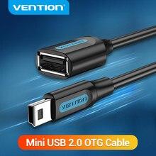 Adaptateur USB Mini USB OTG câble Mini USB mâle vers USB 2.0 femelle pour tablette Samsung Macbook Pro USB adaptateur OTG