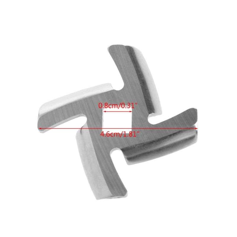 1Pc 50mm Diameter Stainless Steel Meat Grinder Blade Spare Part For Moulinex HV6